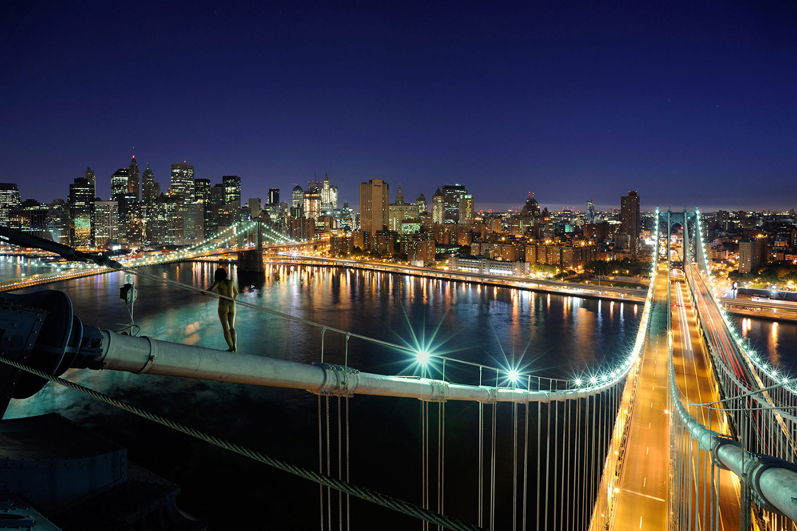 Manhattan Bridge, <br>New York, NY, USA