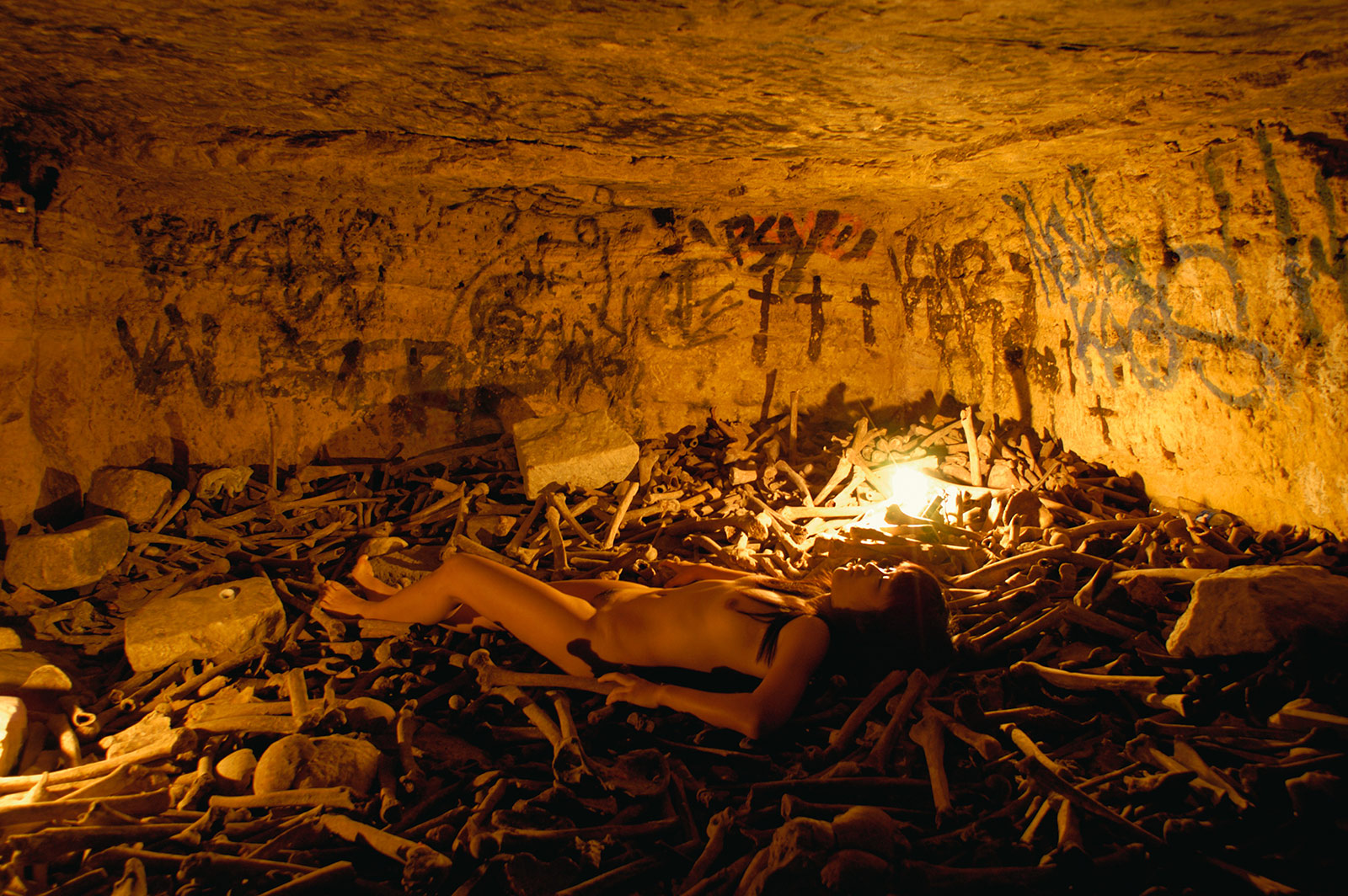 Ossuary, Catacombes de Paris, Paris, France