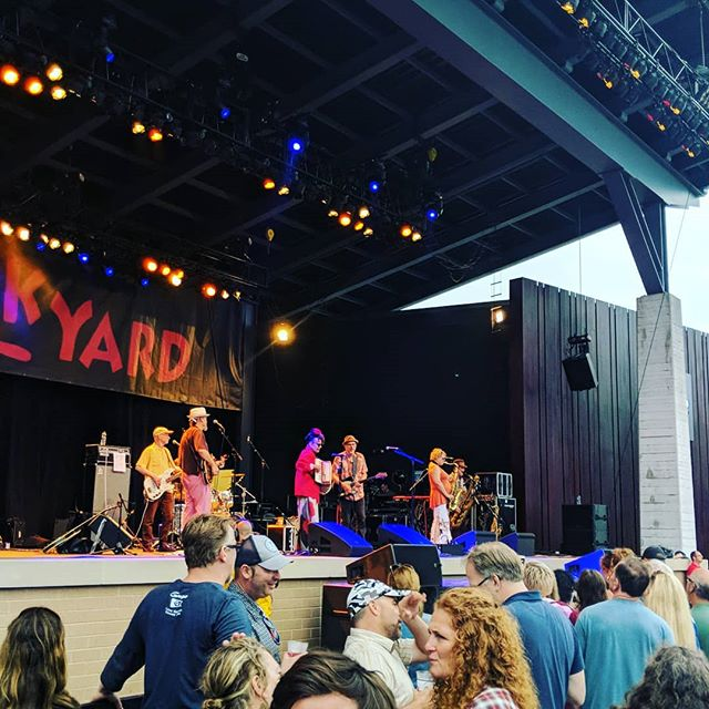 Getting that squeeze box in at summerfest!  #Thuderstorm #summerfest2019 #squeezebox #StripsforDays