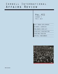 Fall 2013 - Vol. 7, No. 1
