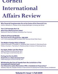 Fall 2009 - Vol. 3, No. 1