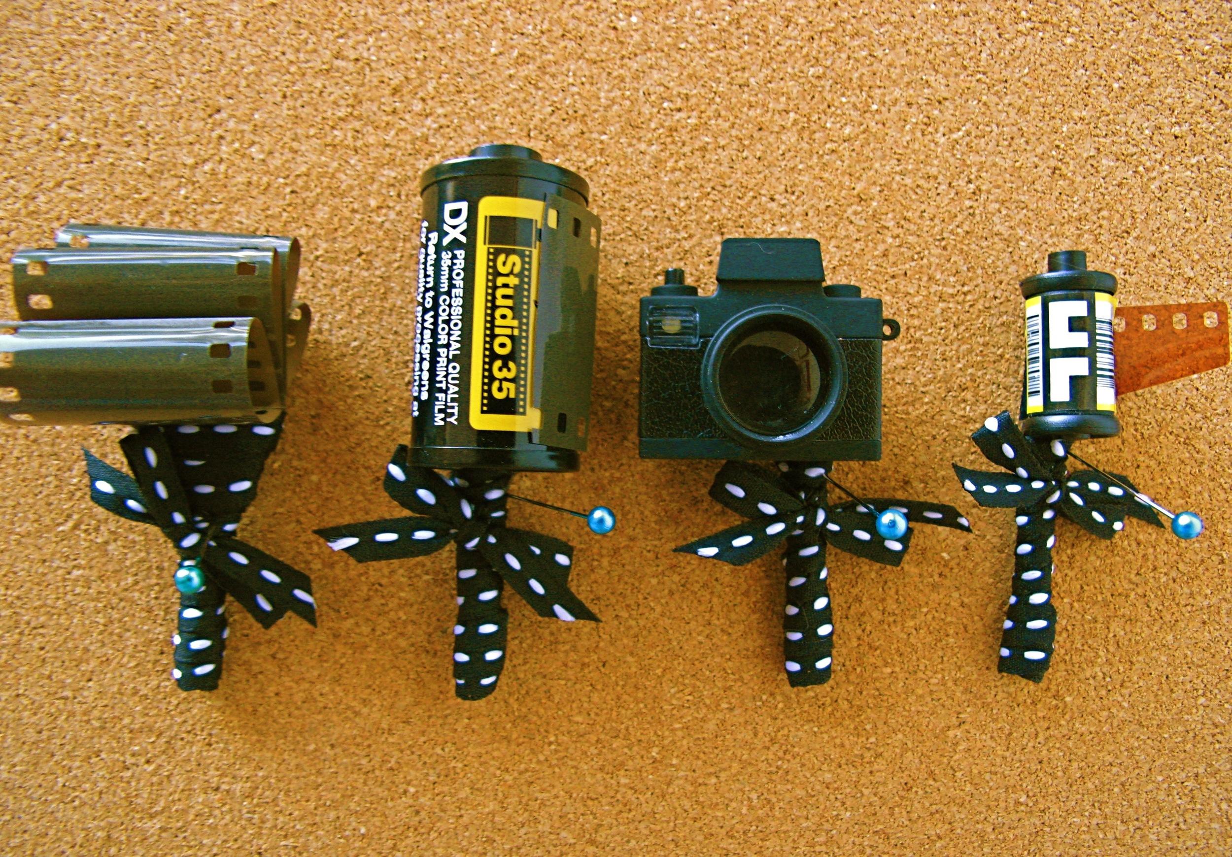 camera/film boutonniere