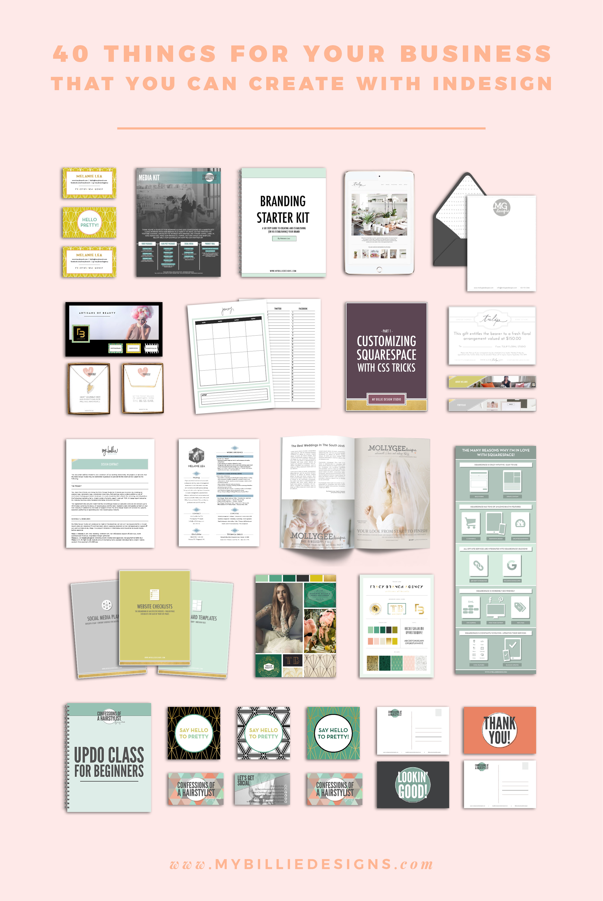 40 things you can create for your business with Adobe InDesign