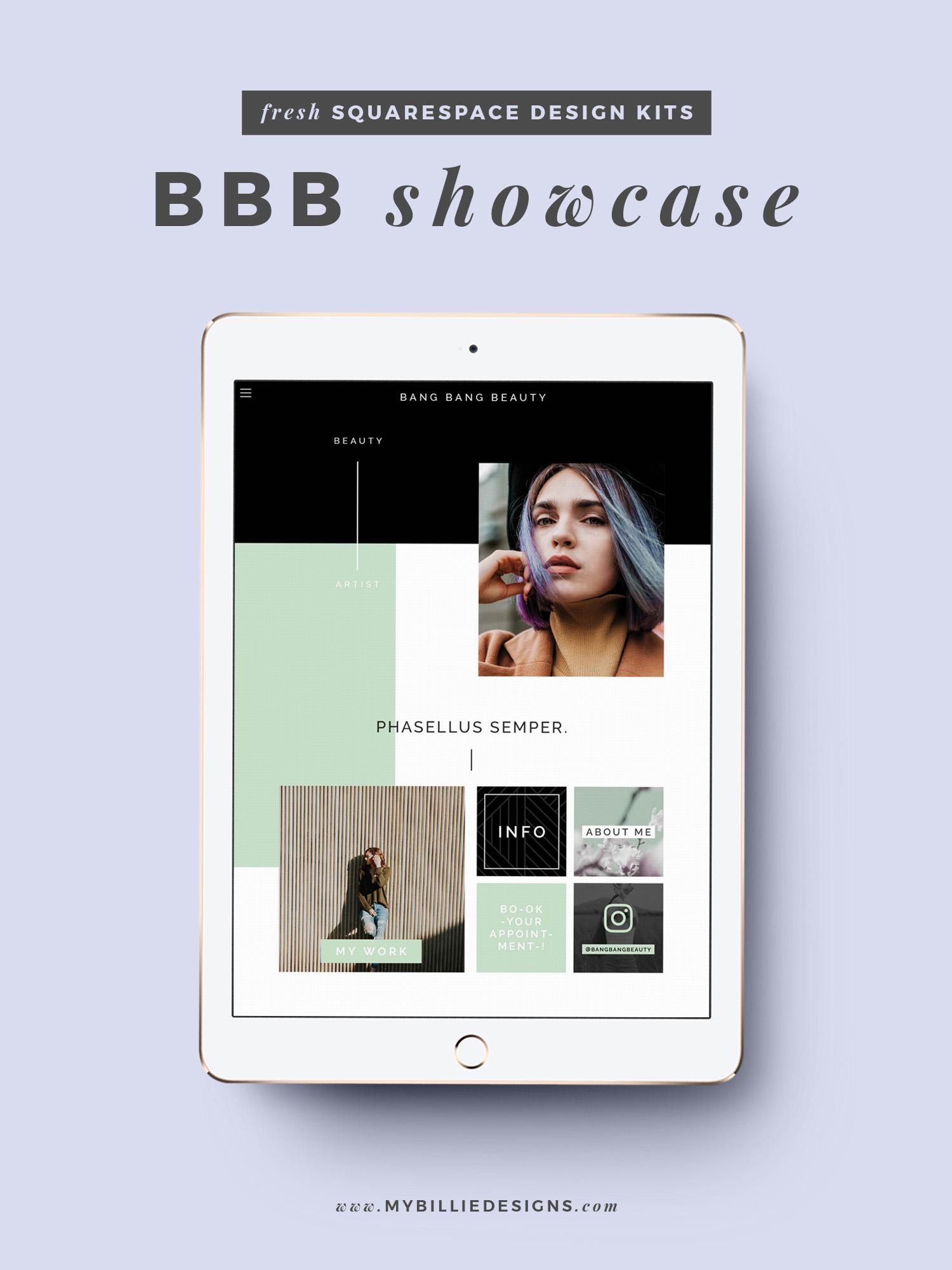 MBD Squarespace Design Kits | BBB Design + Customization Ideas