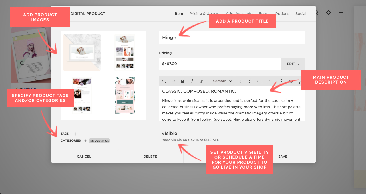 The Ultimate Guide To Setting Up Your Shop In Squarespace — My