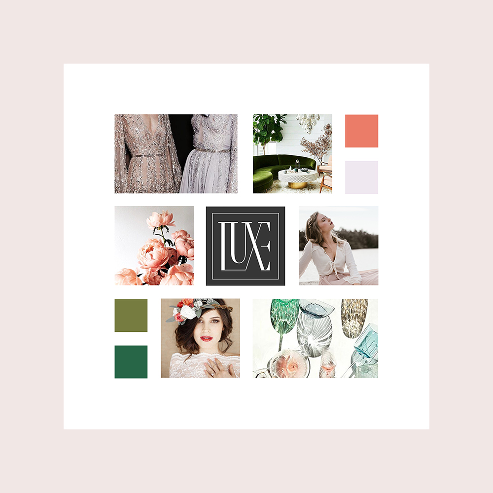 Free moodboard templates InDesign file