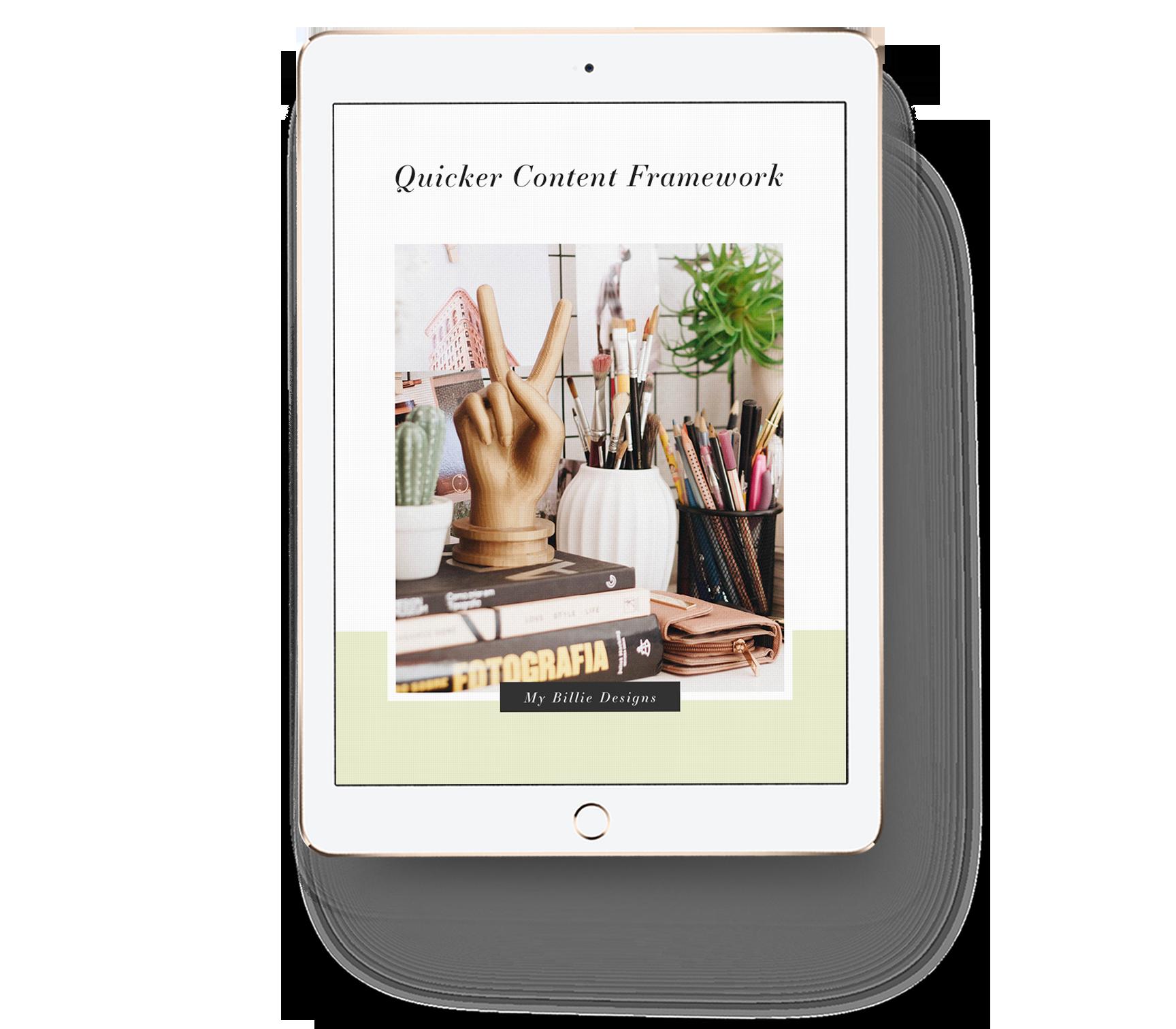 Quicker-Content-Framework-mockup-on-iPad