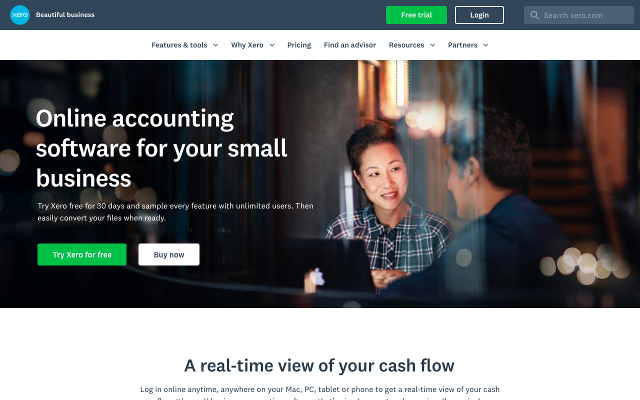 Xero, an online accounting software for your web design business