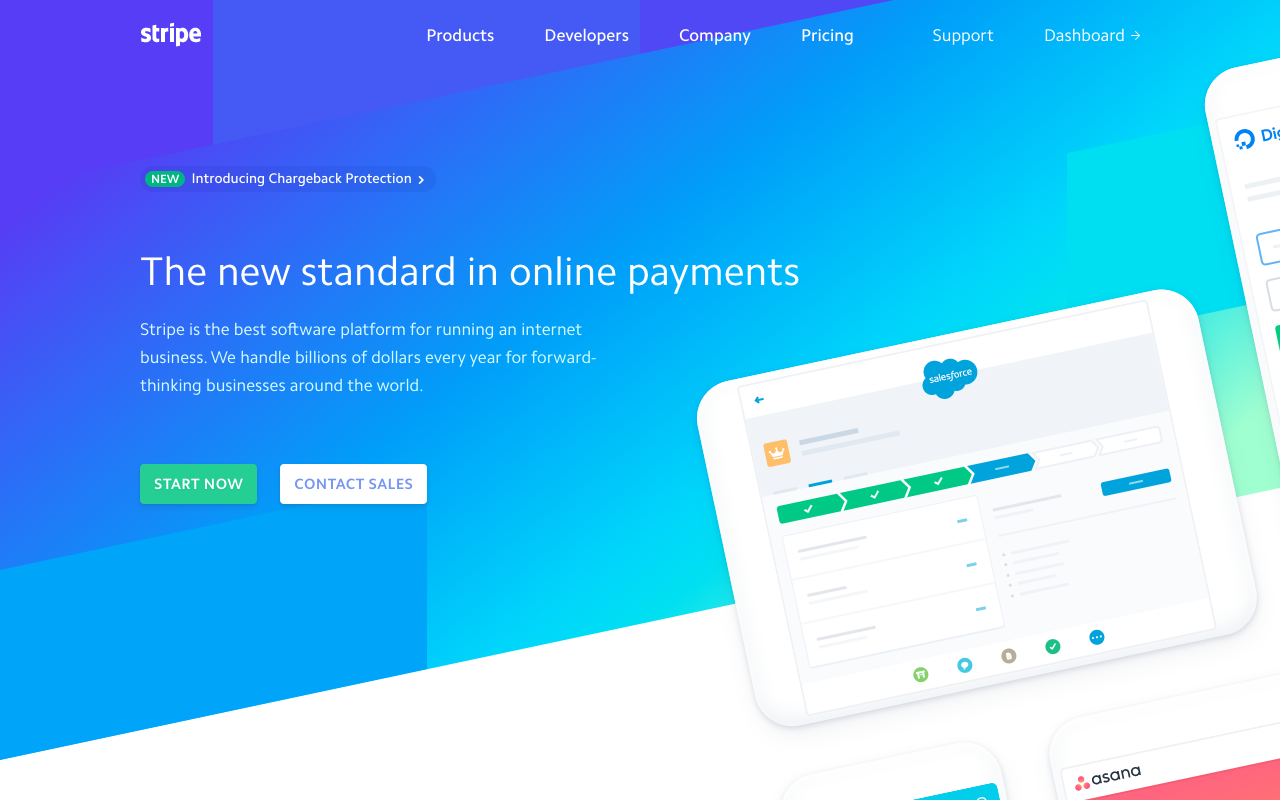 Stripe is an online payment processor that you can connect to your invoicing software to take payments from web design clients
