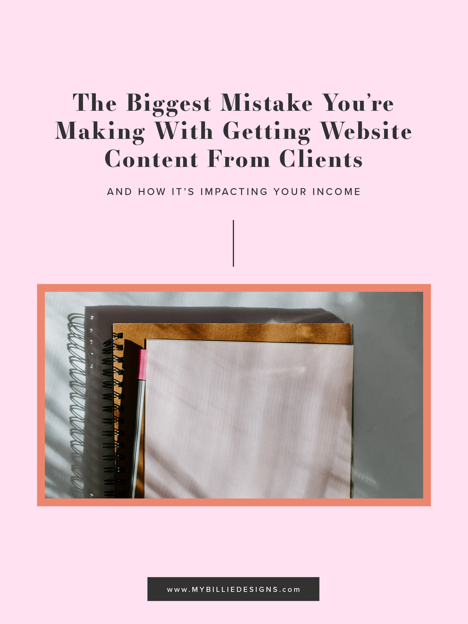 The Biggest Mistake You're Making With Getting Website Content From Clients