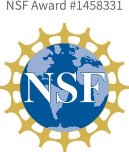 This material is based upon work supported by the National Science Foundation under Grant No. 1458331. Any opinions, findings, and conclusions or recommendations expressed in this material are those of the author(s) and do not necessarily reflect the views of the National Science Foundation.