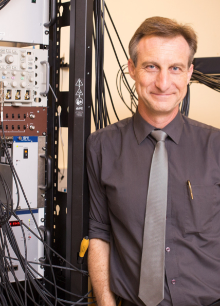 Warren Rogers, PhD; Blanchard Chair Physics