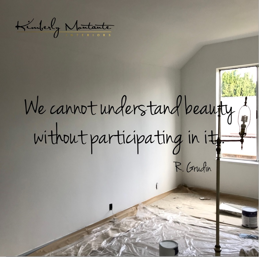- This quote is so true and we attack this wall with gusto!  There is about 7' of depth back there and will add so much floor space for her and the alcove bed I'm designing will add so much character to this blah room!