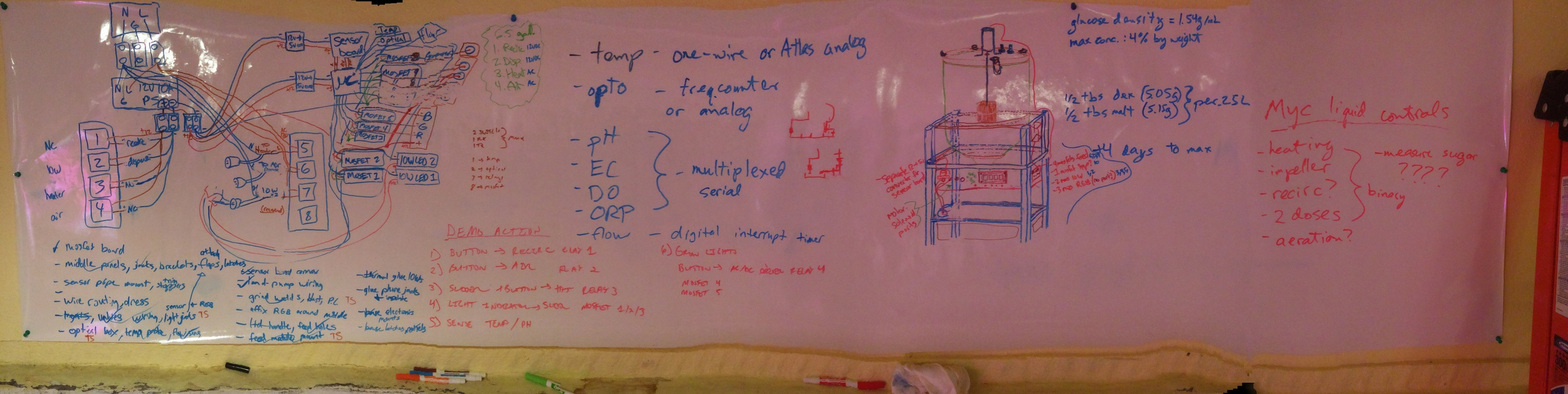 With a proof-of-concept model out of the way, we began designing a more-robust and fully-featured prototype.