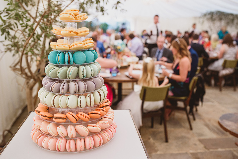 Croquembouche And Macaron Cake Me By Surprise