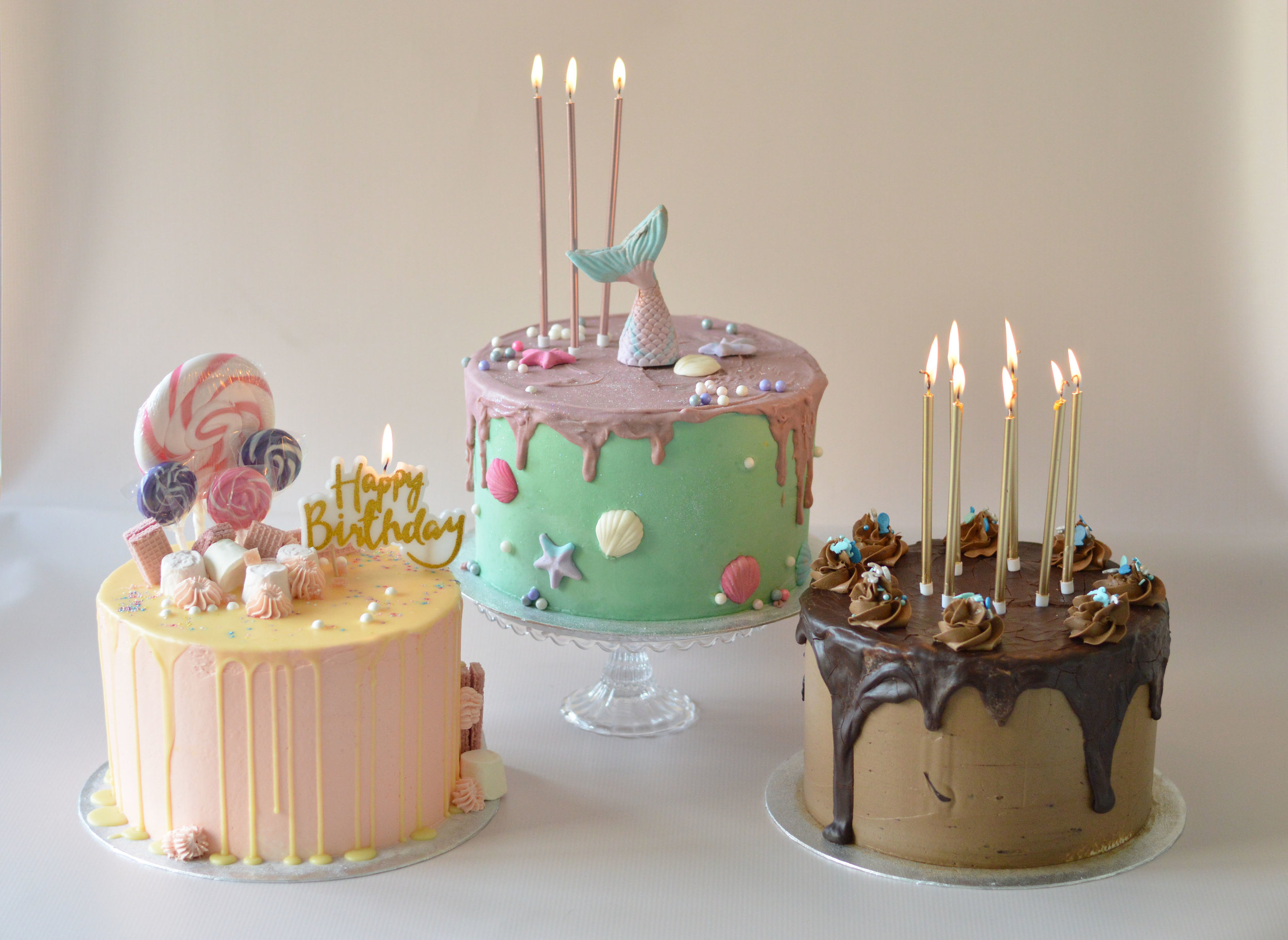 Introducing the New Drip Cake Range - 3 Days Notice. Collection or Delivery. Custom Orders 5 Days Notice