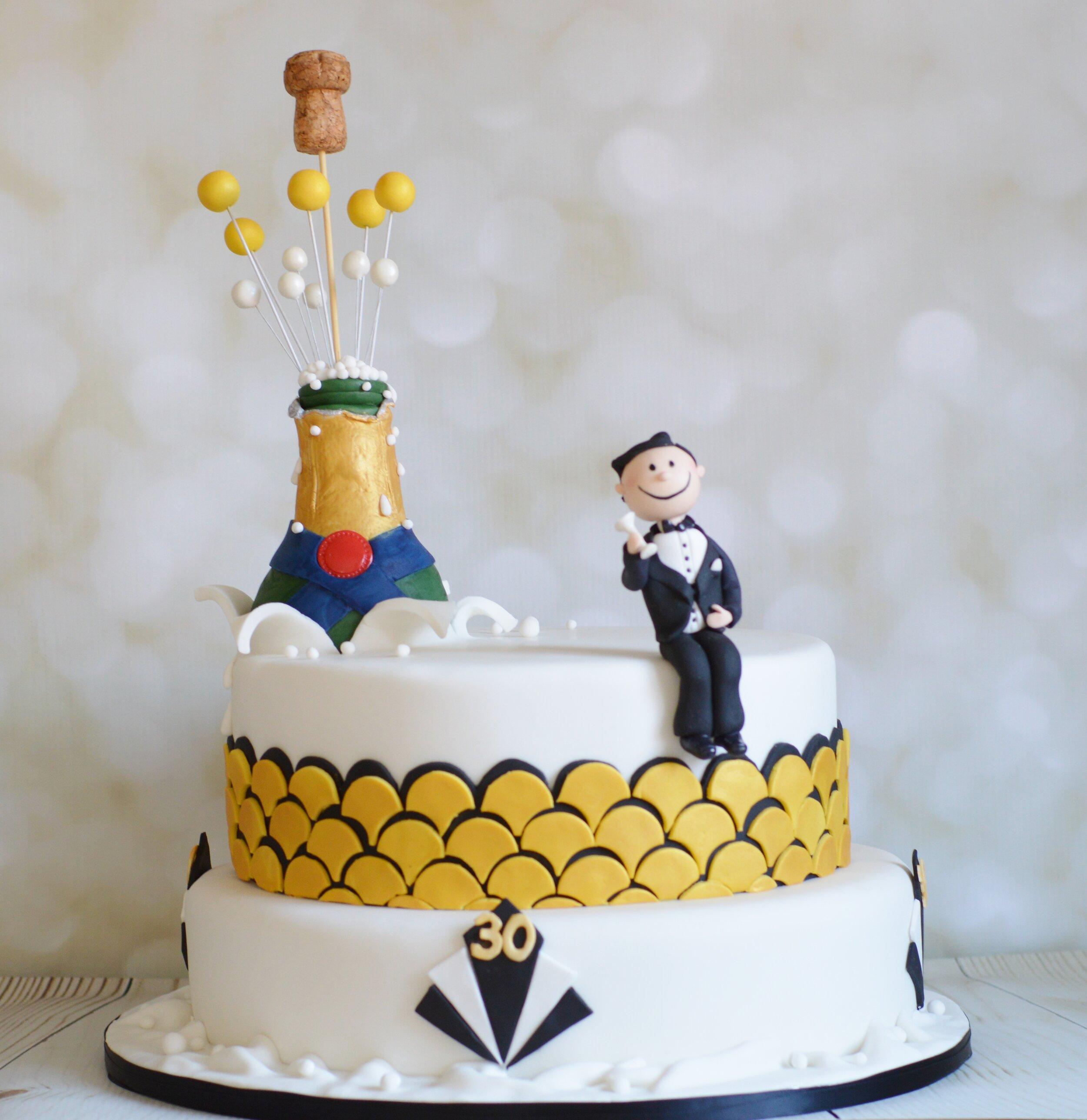 Gatsby 30th Birthday Cake