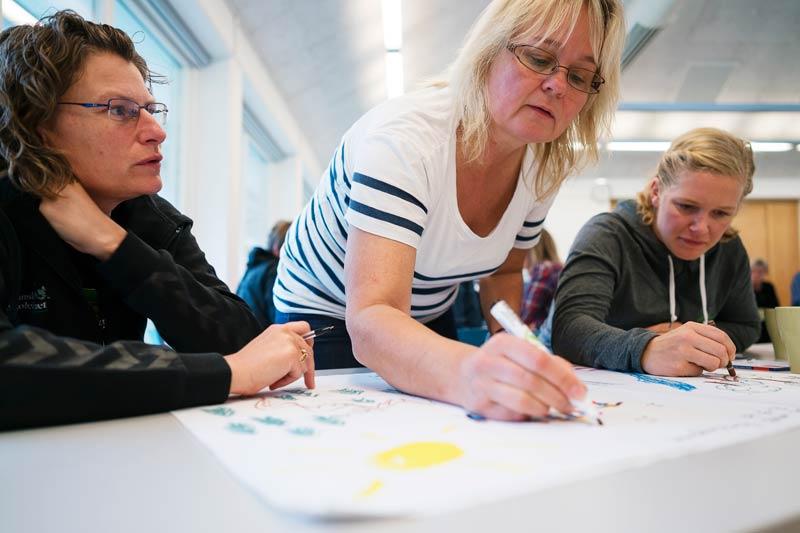 Kreativitet og videreudvikling af skoleidrættens aktiviteter er nøgleordene, når repræsentanter fra Dansk Skoleidræts 15 kredsforeninger mødes hvert år i september påweekendkursus. I 2015 foregik kurset på Jaruplund Højskole i Kreds Sydslesvig.