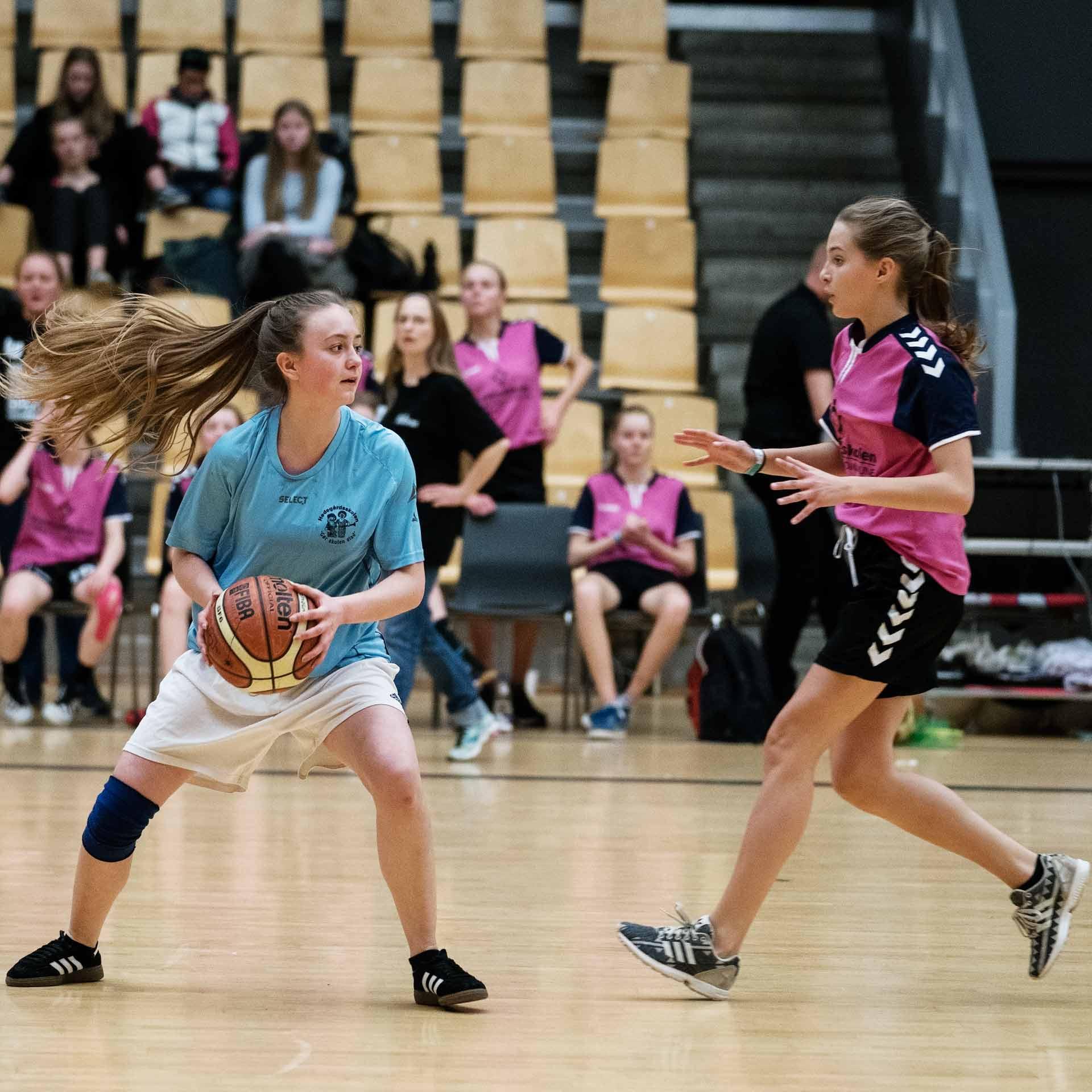 DM i Skolebasket 2017 blev afholdt i Horsens. 8. klasser fra 19 forskellige skoler dystede om titlen.