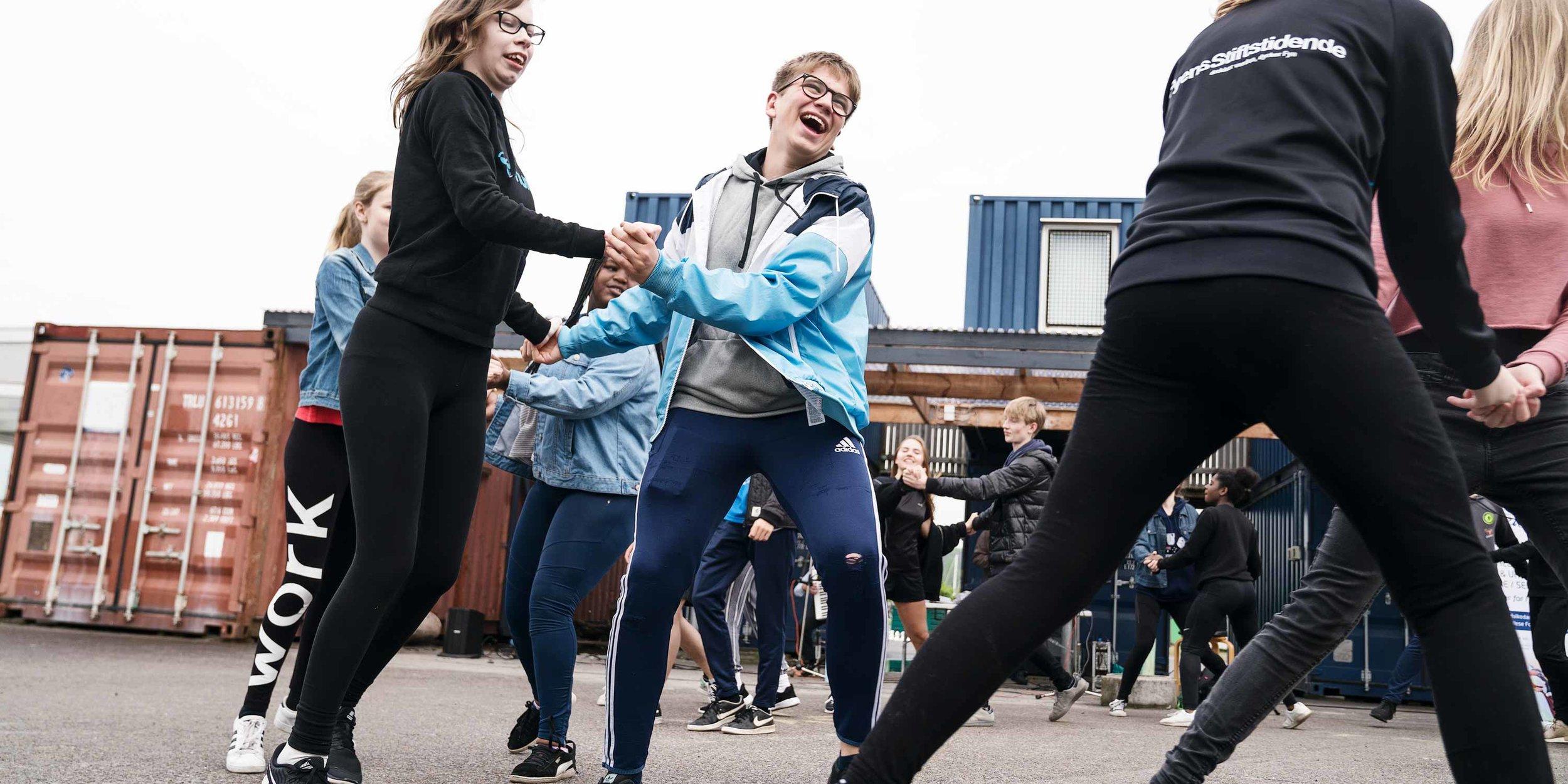 Skoleidrættens Forårsfestival på Byens Ø, Odense.