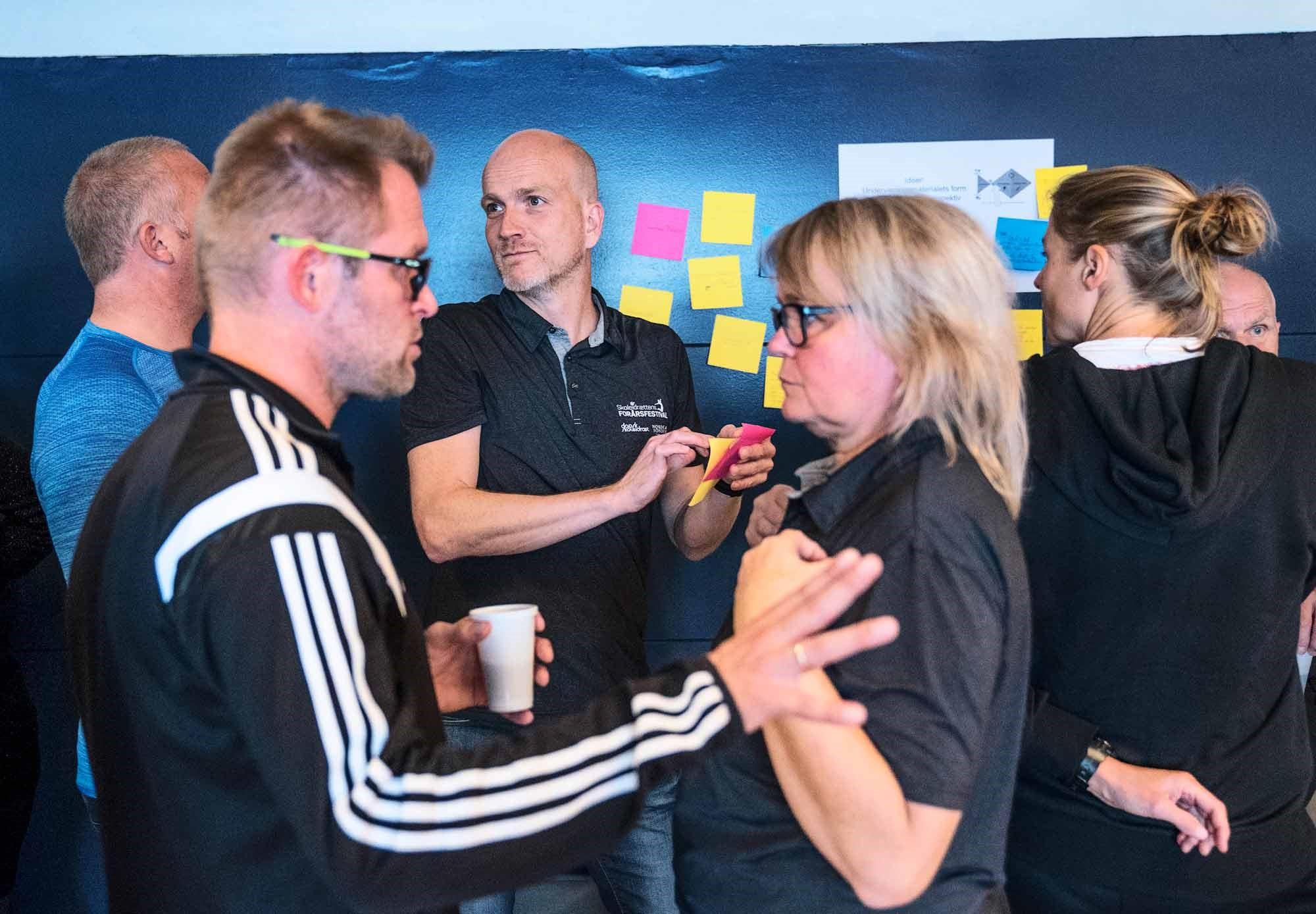 På det årlige udviklingskursus for medlemmer af Dansk Skoleidræts kredse fik deltagerne ny faglig inspiration. I 2017 fandt kurset sted i Aalborg.