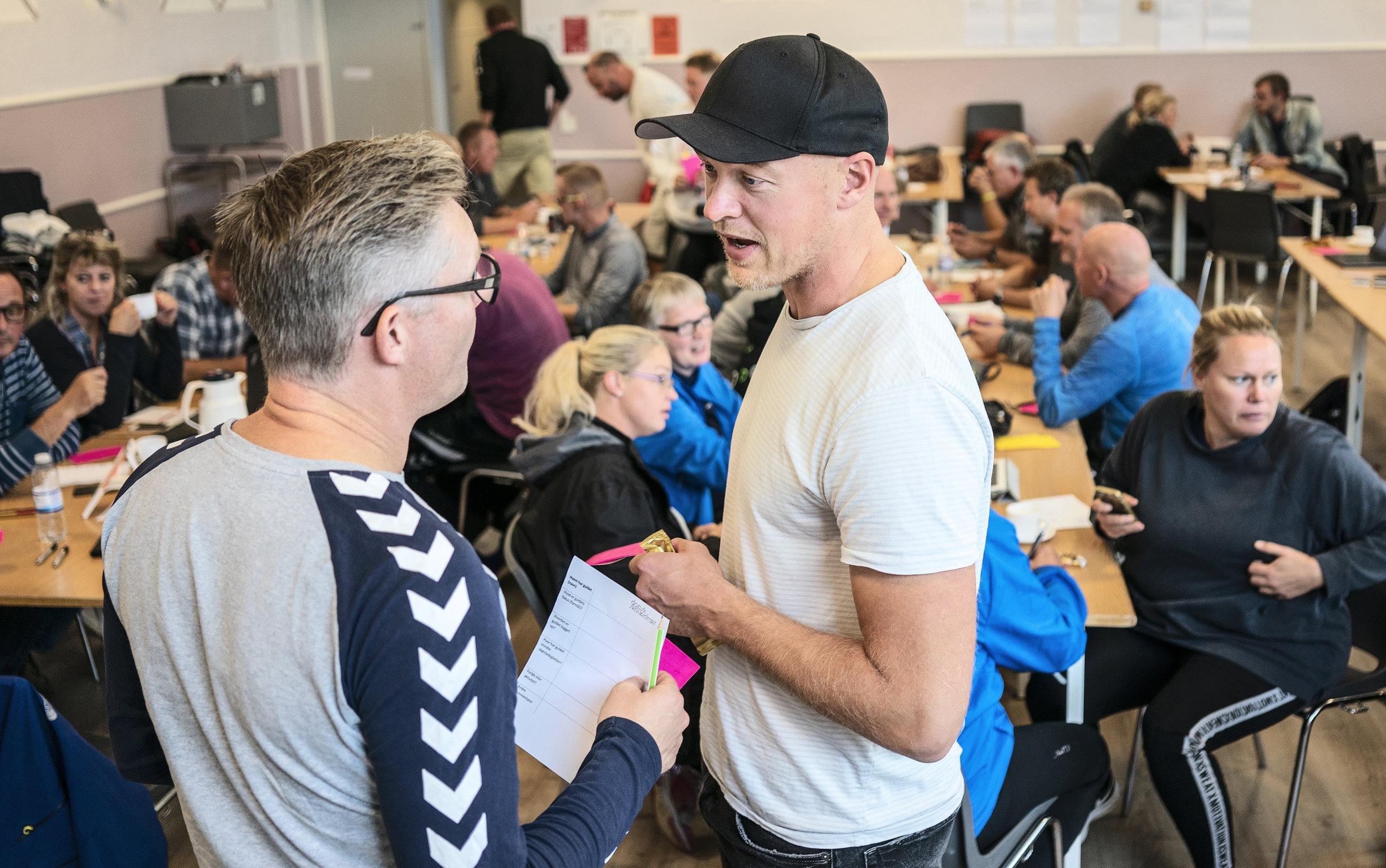 På det årlige udviklingskursus for bestyrelsesmedlemmerne i Dansk Skoleidræts 15 kredse fik deltagerne ny faglig inspiration. I 2018 fandt kurset sted i Silkeborg.