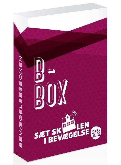 Bevægelsesboxen indeholder en række aktivitetskort, eleverne selv har produceret.