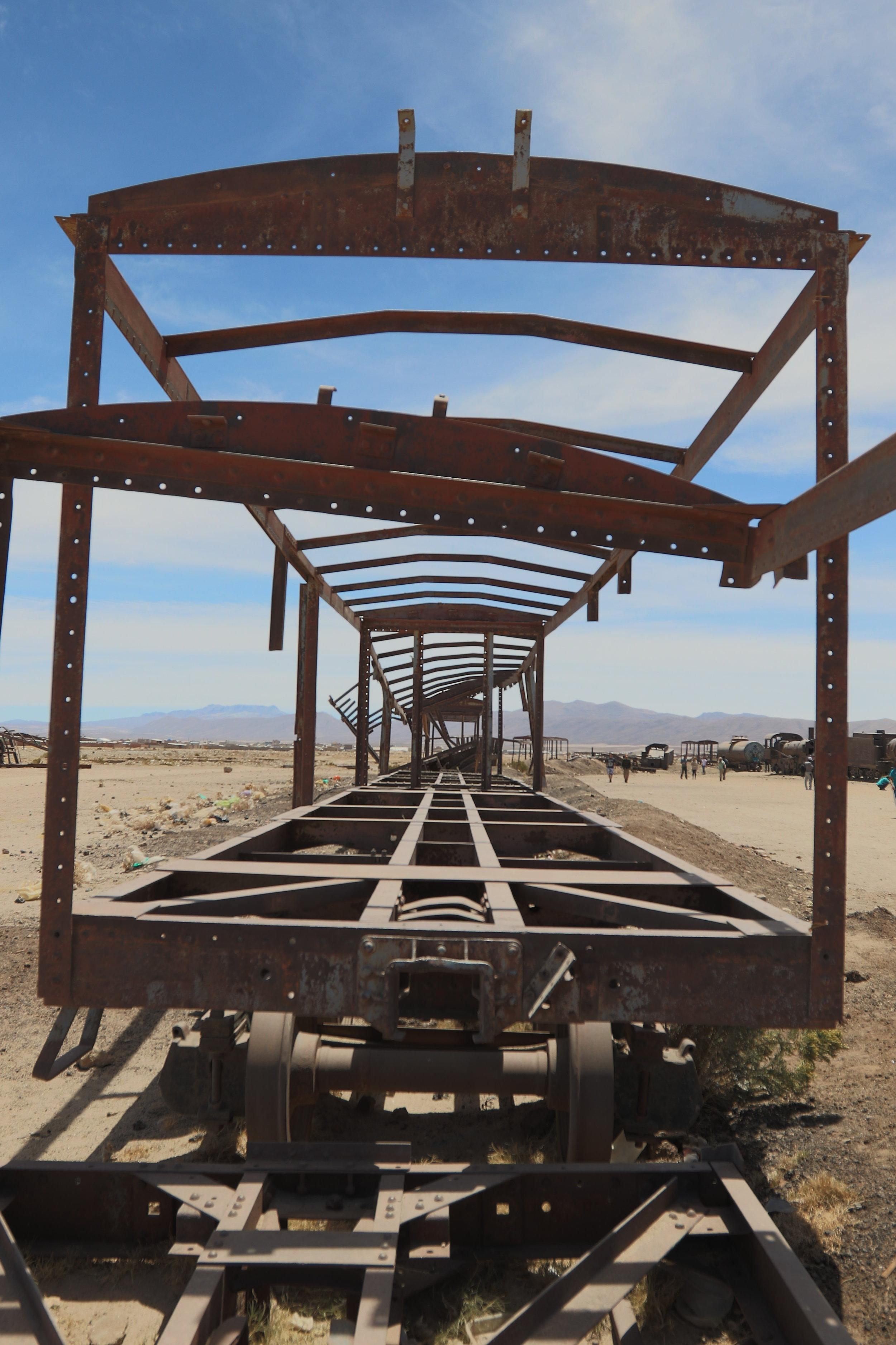 """Abandoned wheels""Uyuni Desert, Bolivia"