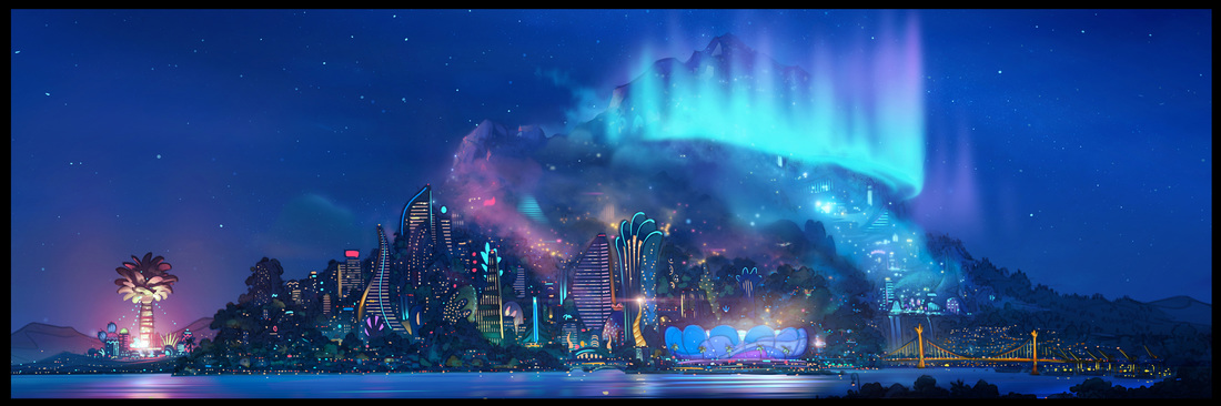 Zootopia Concept Art by Art Director Matthias Lechner copyright Walt Disney [Image to be replaced as project progresses]