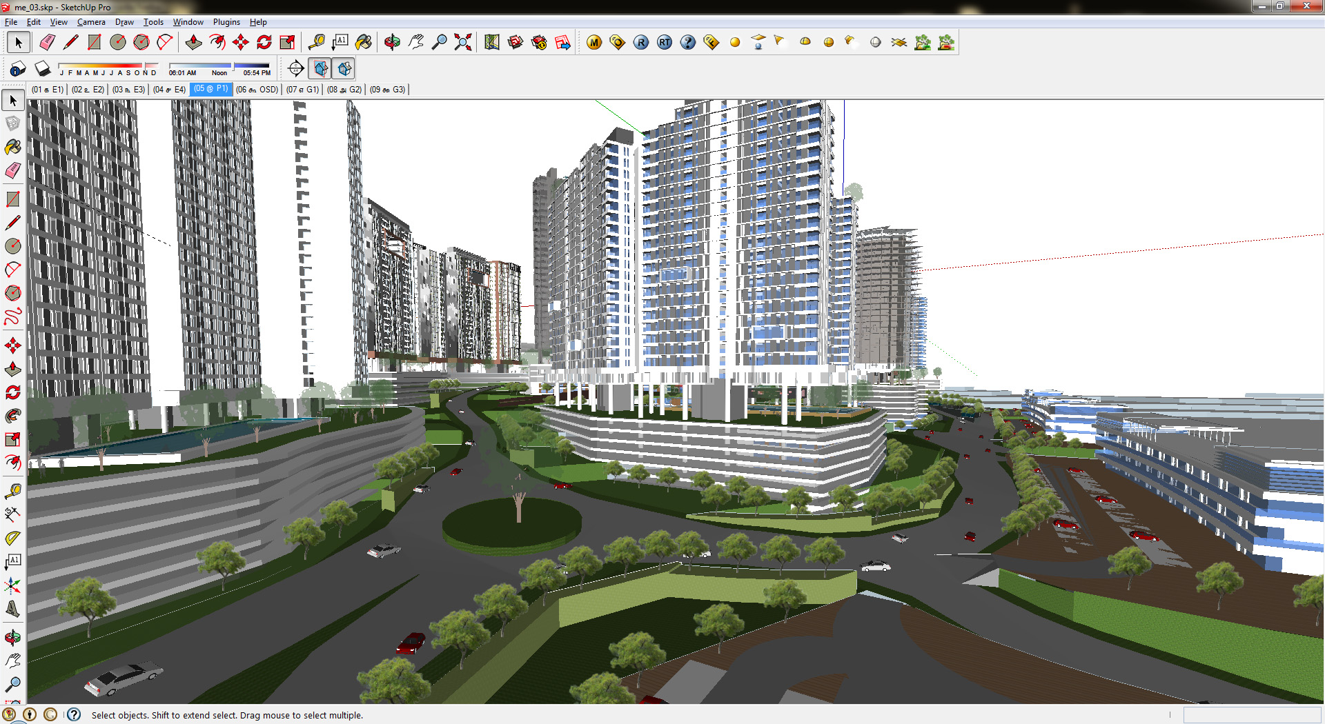 Created sketchup model from cad drawing