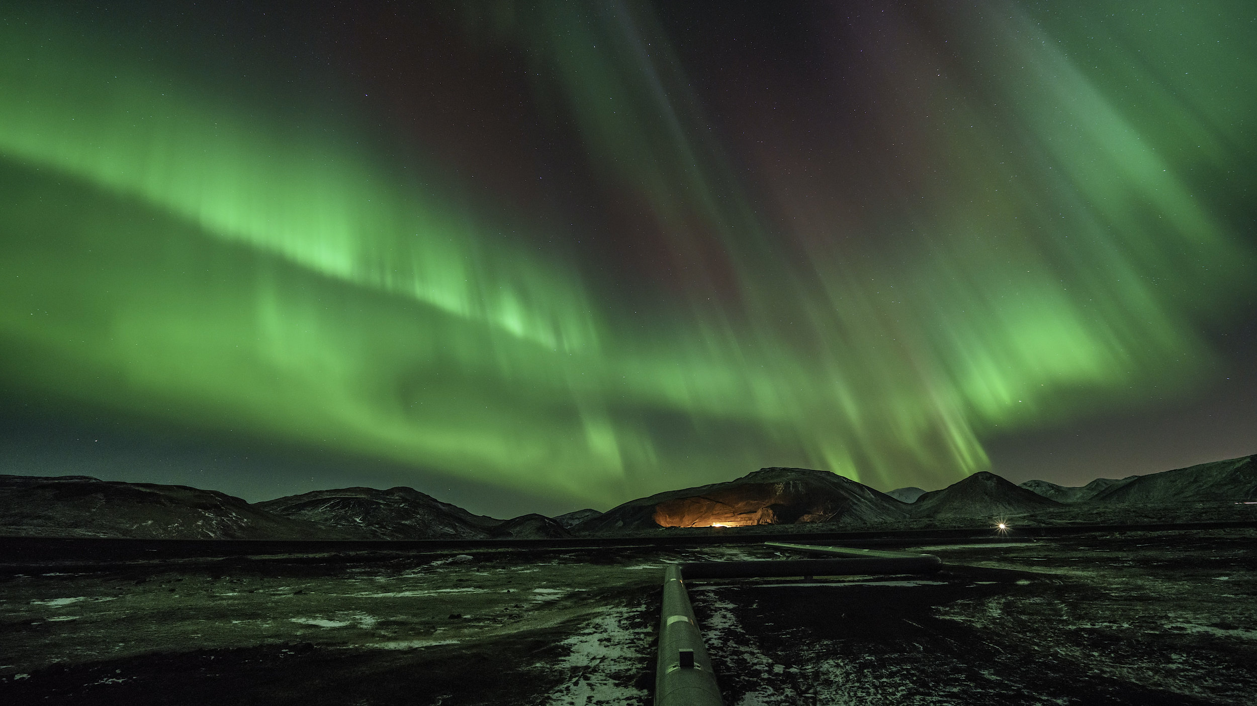 Essential Iceland & Northern Lights Offer - Winter getaway package with a Northern Lights Tour, Golden Circle Tour and a South Coast Tour.