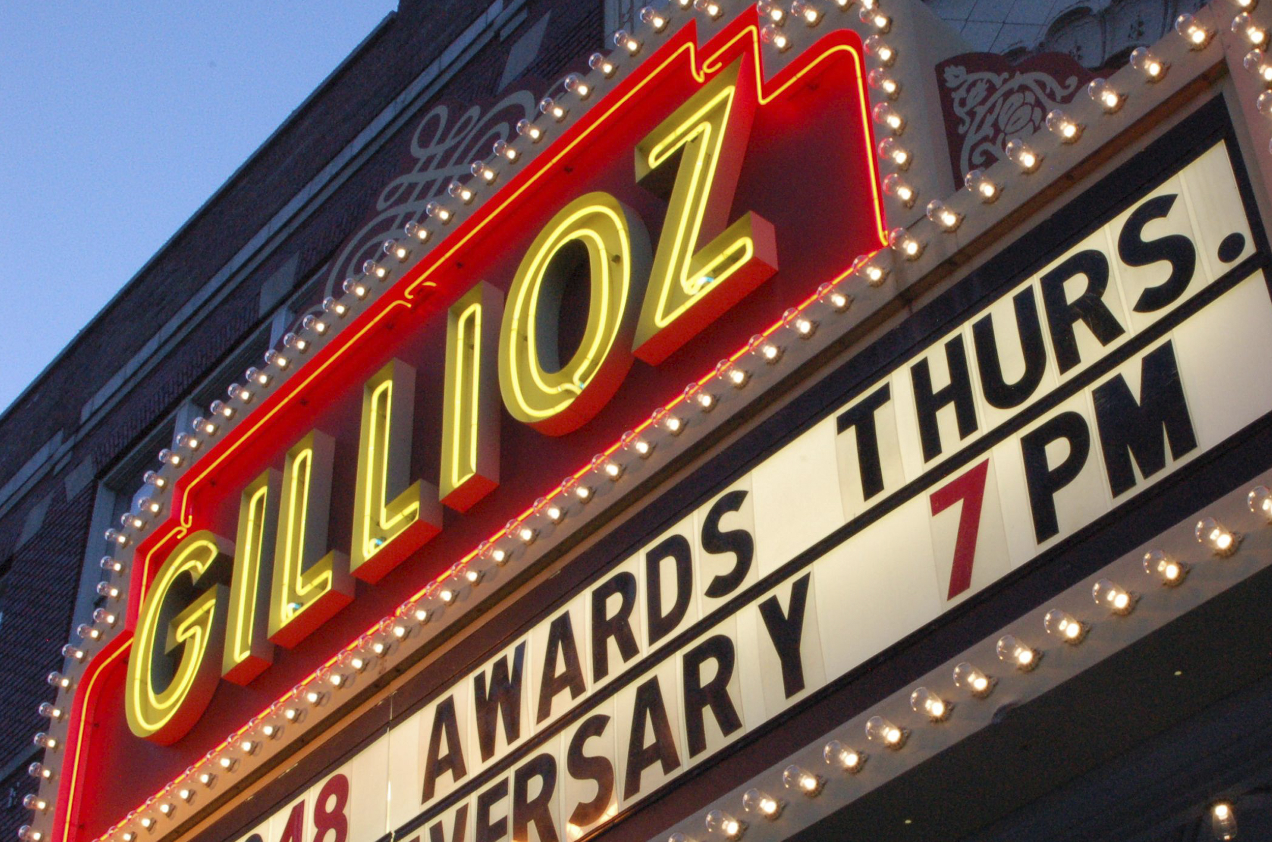 Gillioz theatre entertainment Missouri