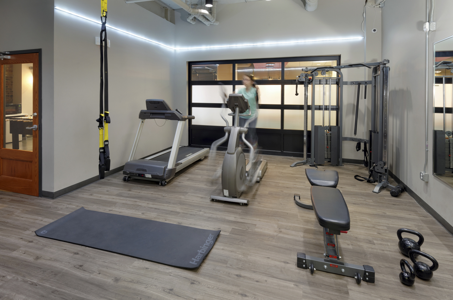 The U student gym amenities