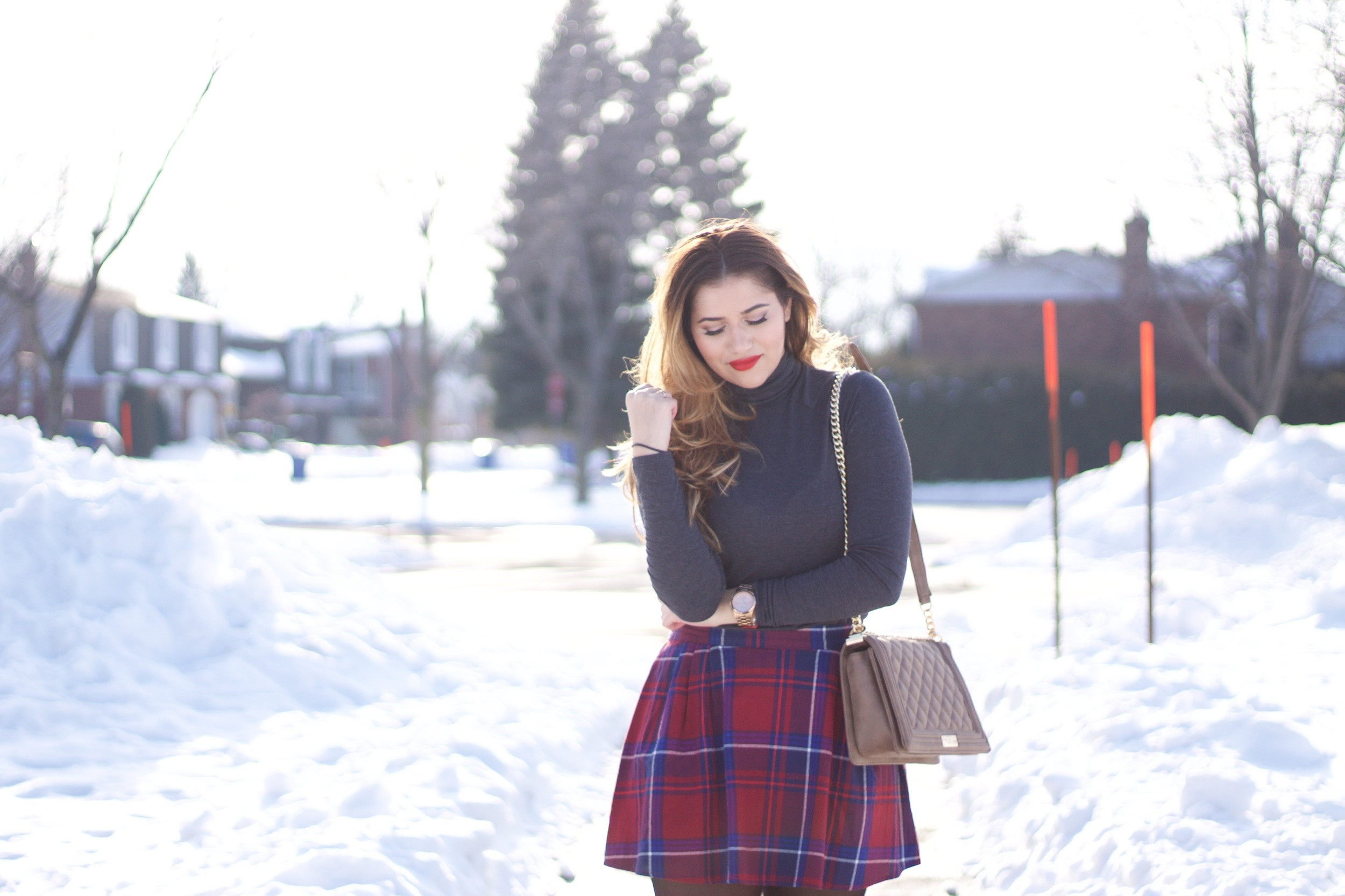 plaid and style