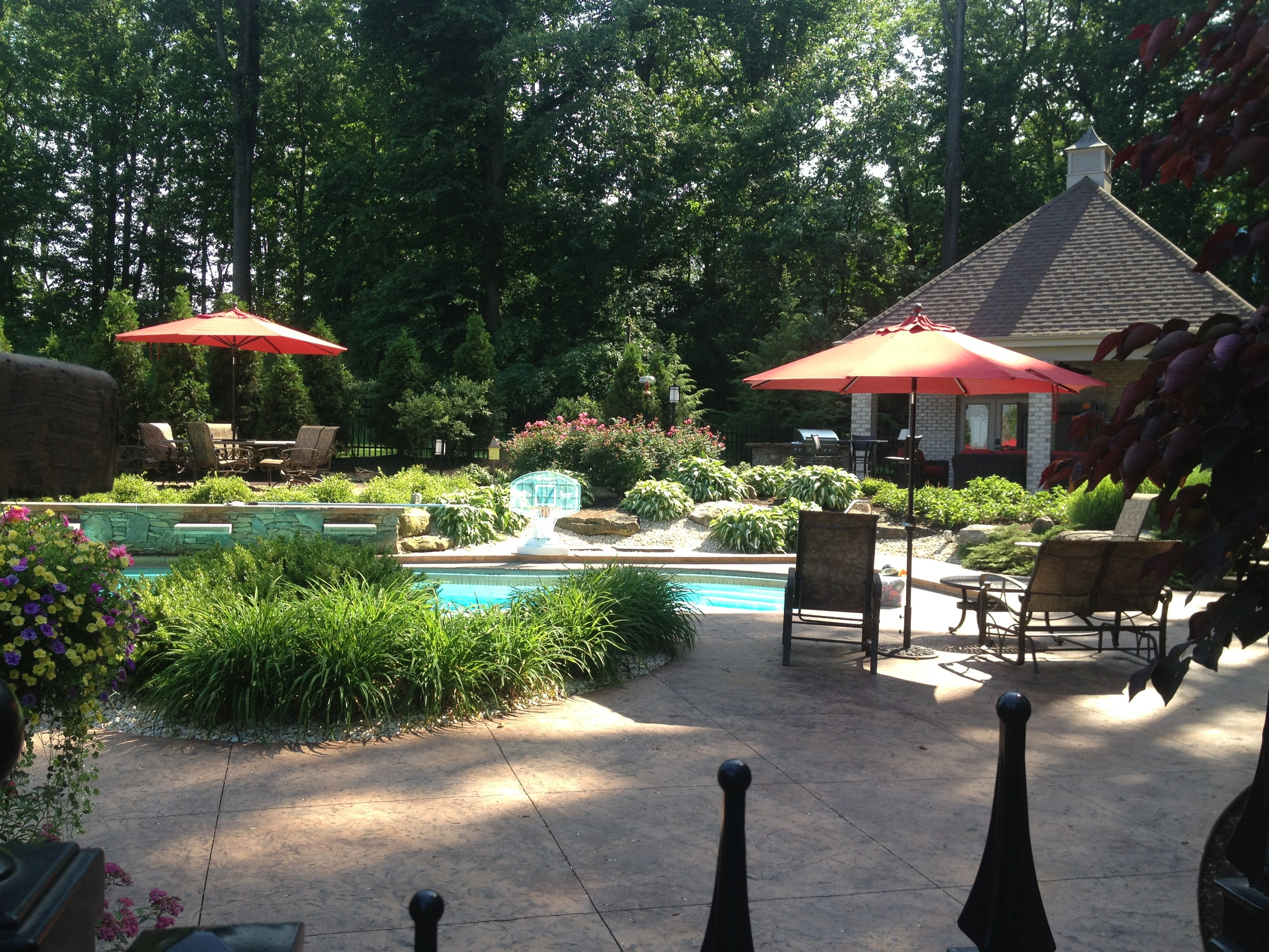 swimming pool patio build greensburg, pa