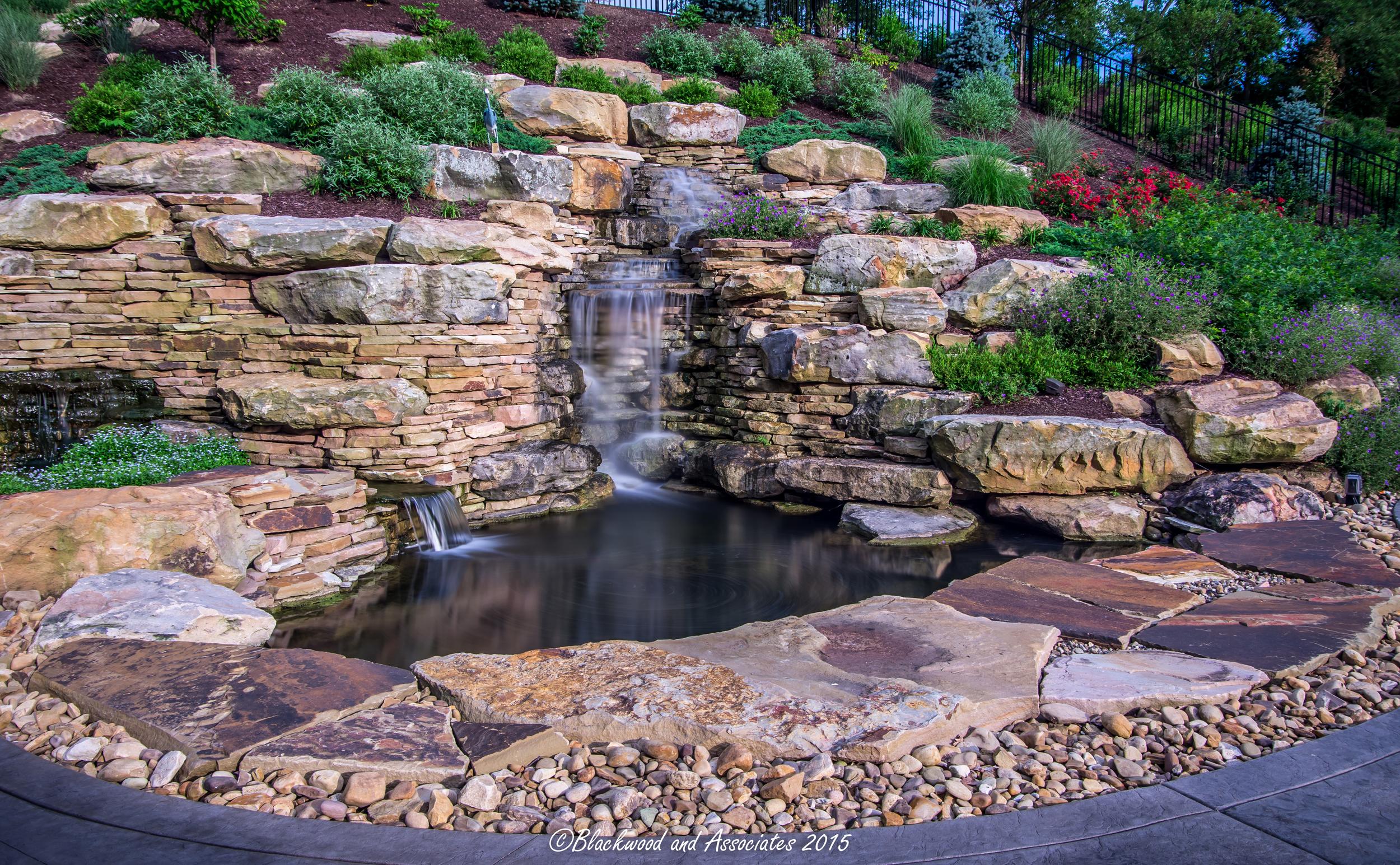 waterfall in sewickley, pa