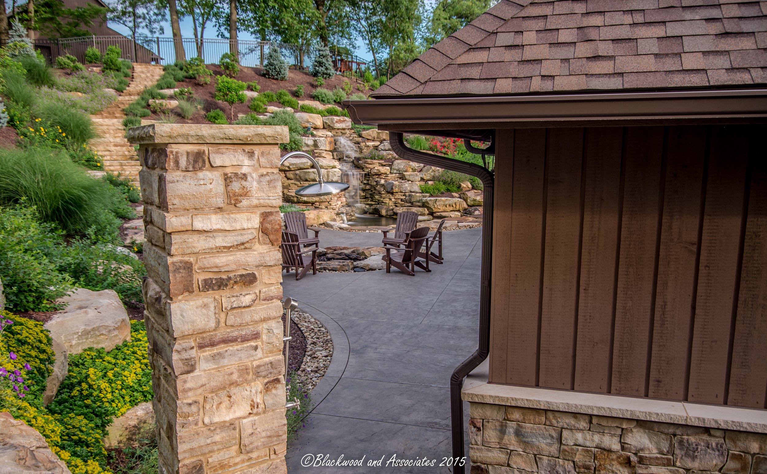 outdoor shower in sewickley, pa