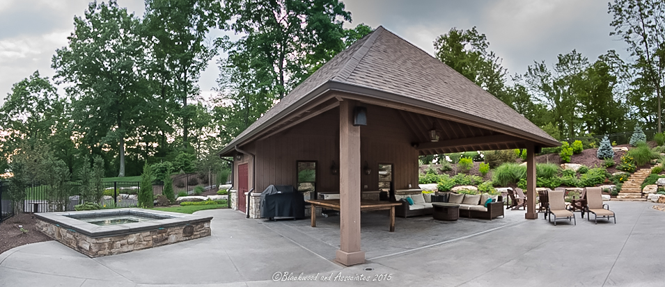 pool house in sewickley, pa