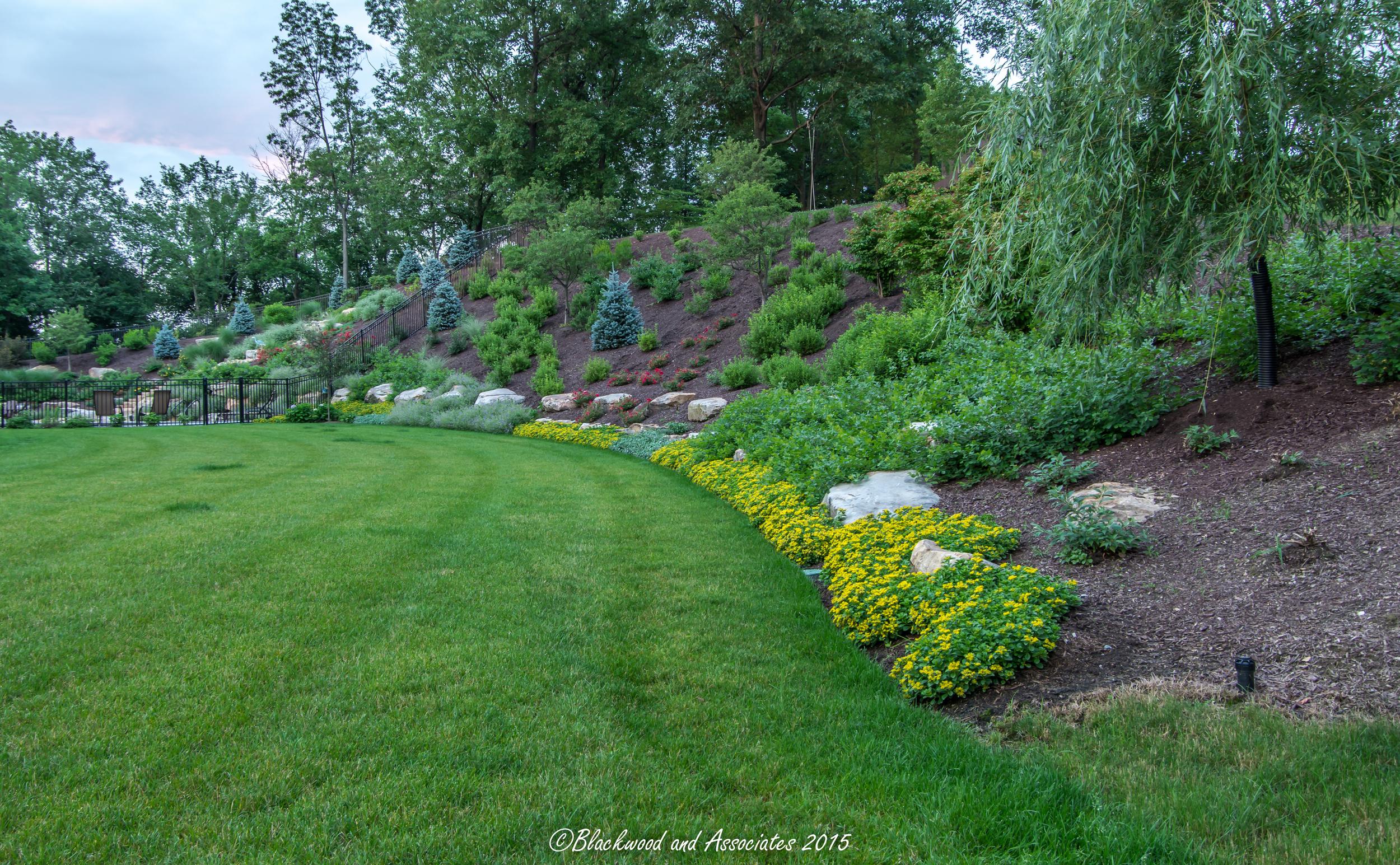 hillside landscaping in sewickley, pa
