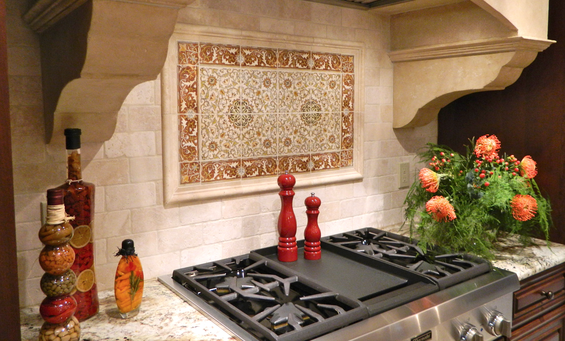 designer kitchen backsplash in canonsburg, pa