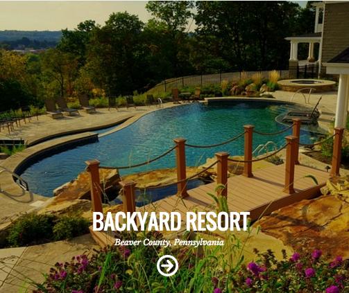 backyard resort pool and patio beaver county, pa
