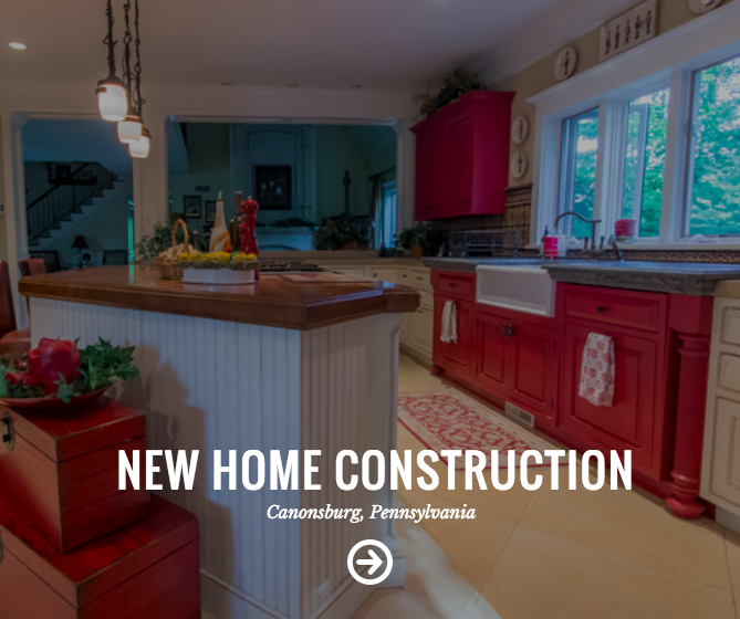 New home construction in Canonsburg, PA