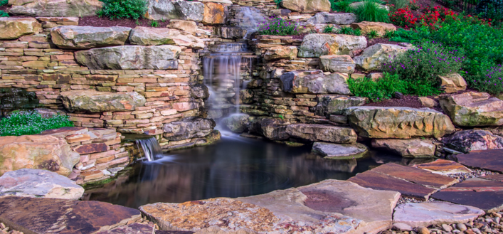 Water features for your Western, PA landscape design.