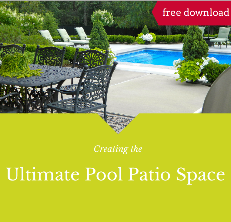 ideas for a beautiful outdoor living area - swimming pool patio - sewickly, bulter, moon, adams township in PA