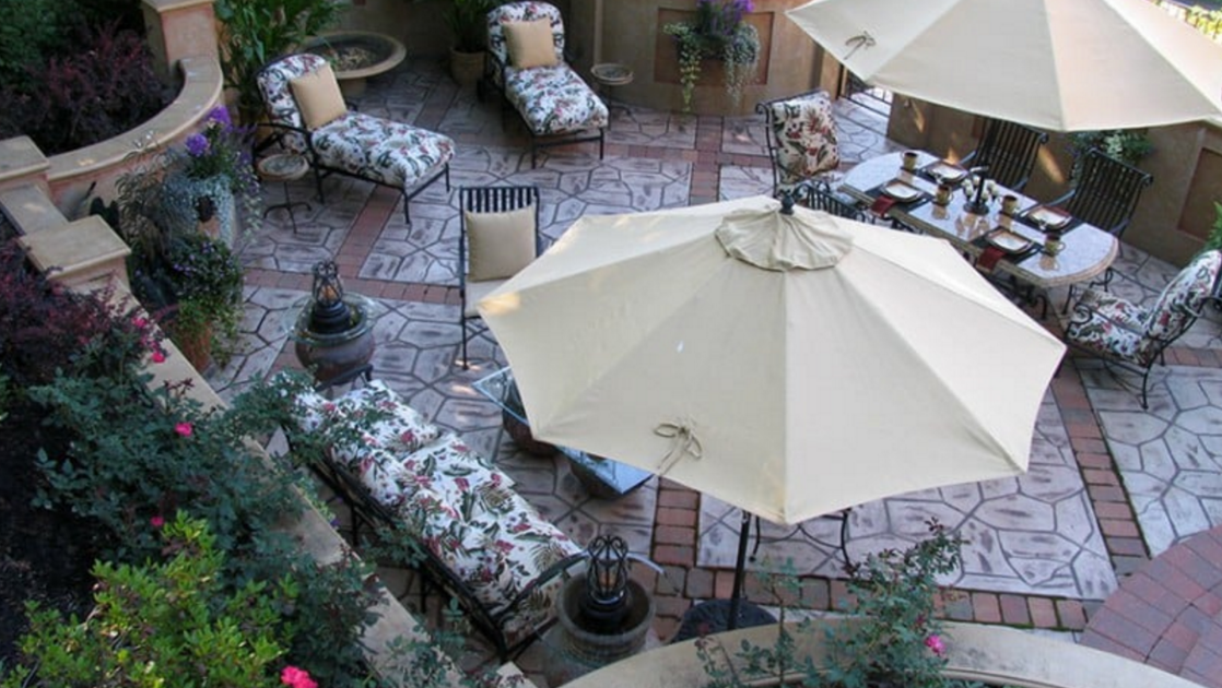 beautiful patio design in sewickley, canonsburg, and butler PA