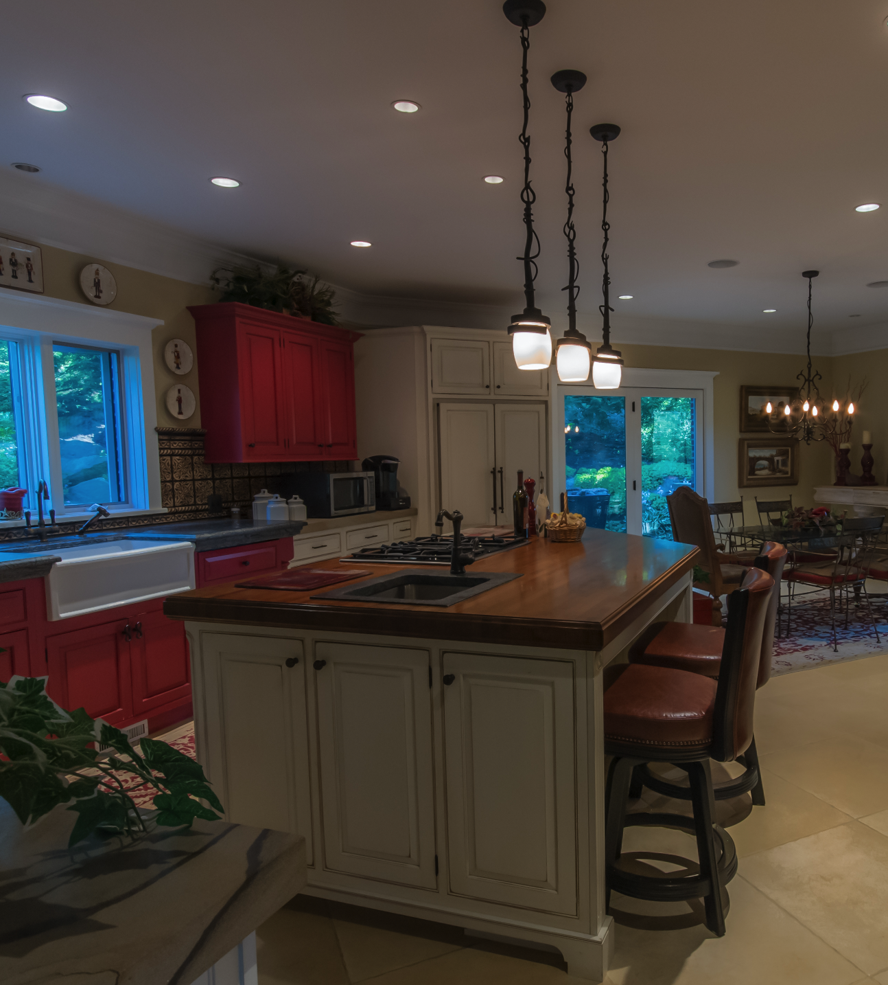 Kitchen Remodel by Blackwood & Associates with offices in Mars, PA and Canonsburg, PA.