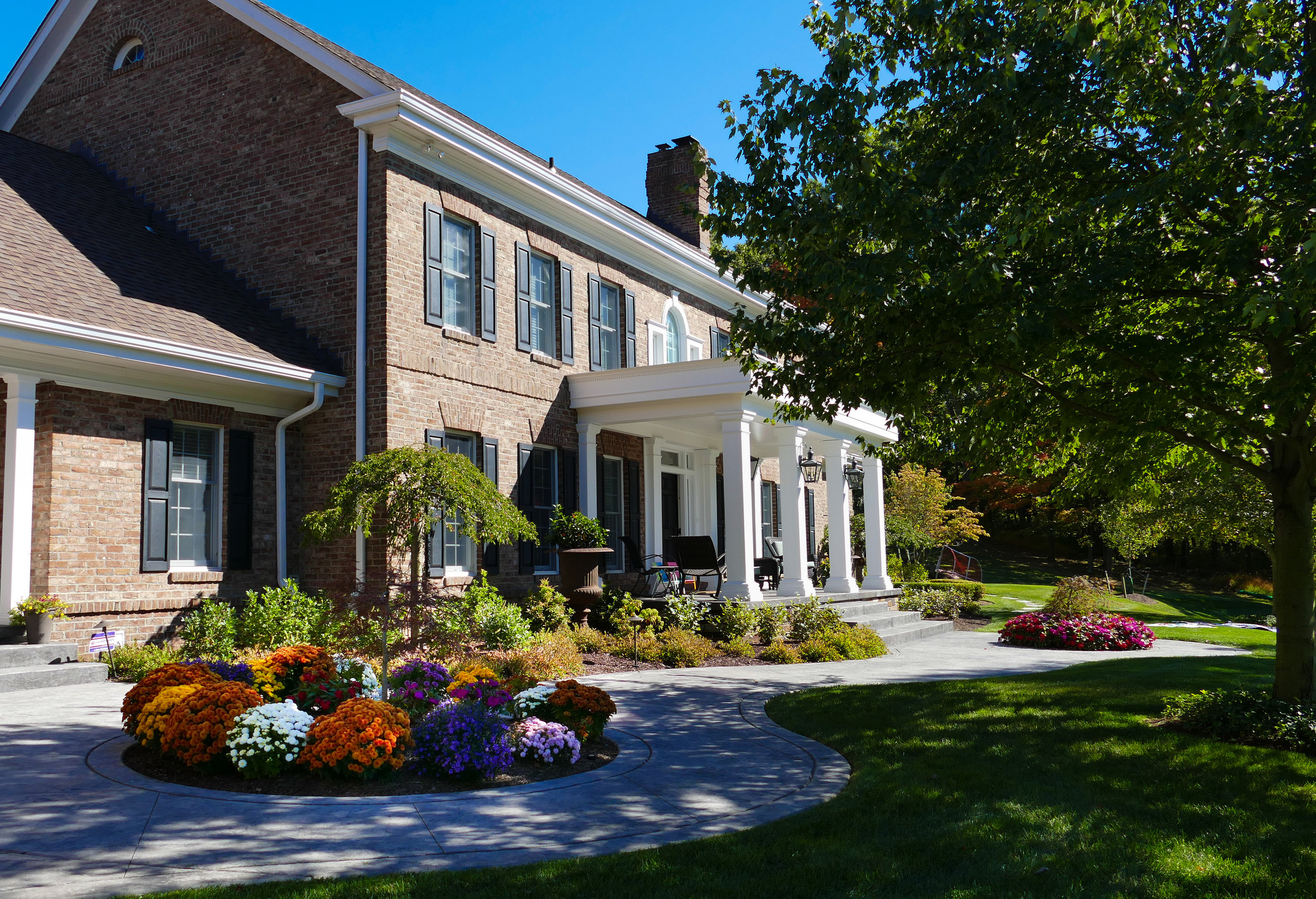 Sewickley, PA landscape design and construction