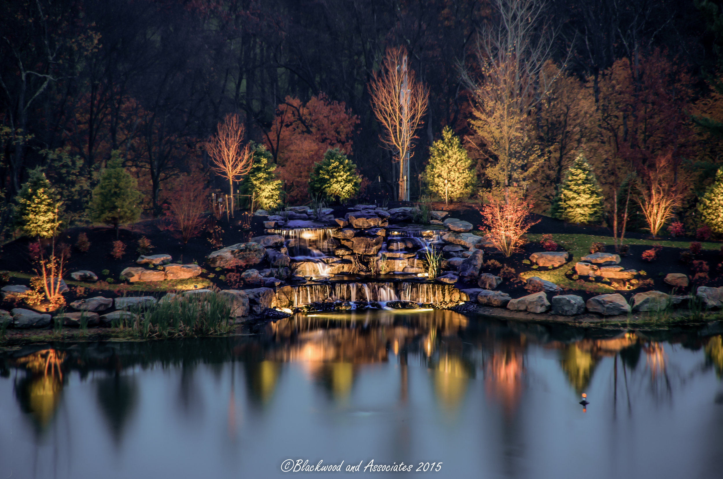 Creating a Winter Wonderland Using Outdoor Lighting Adams Township PA
