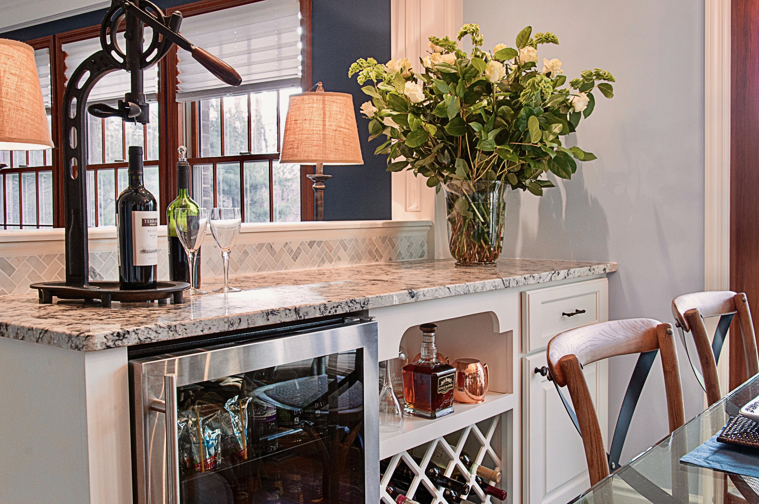 Kitchen remodel project in Franklin Park, PA by The Blackwood Group