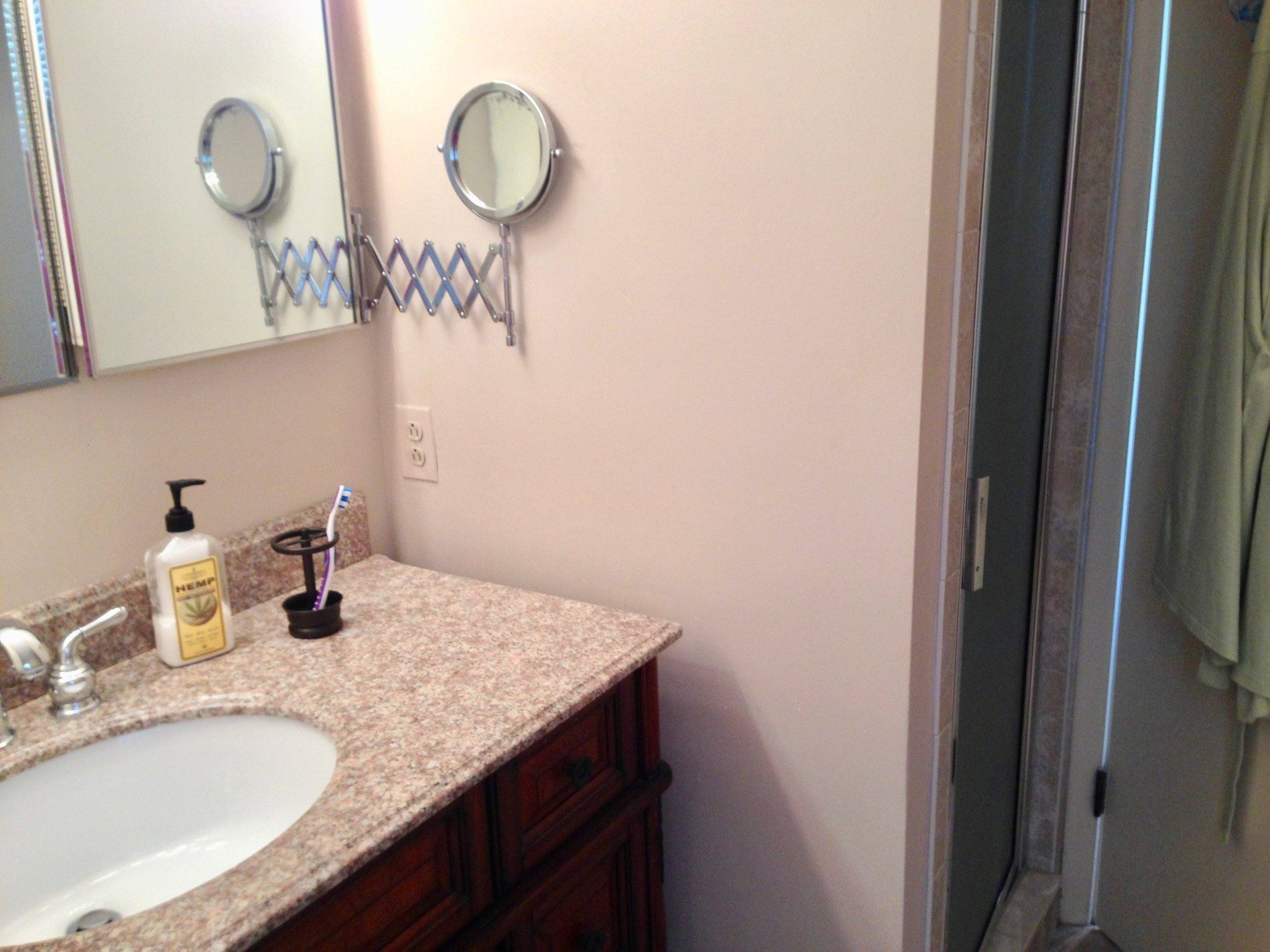 bathroom remodel in PA by the Blackwood Group